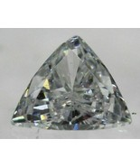 Certified 0.25 Carat D VVS2 Triangle Natural Diamond 4.61x4.65mm 2EX #110 - $302.72
