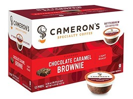Cameron's Specialty Coffee, Chocolate Caramel Brownie, 12 Count, Single ... - $9.68