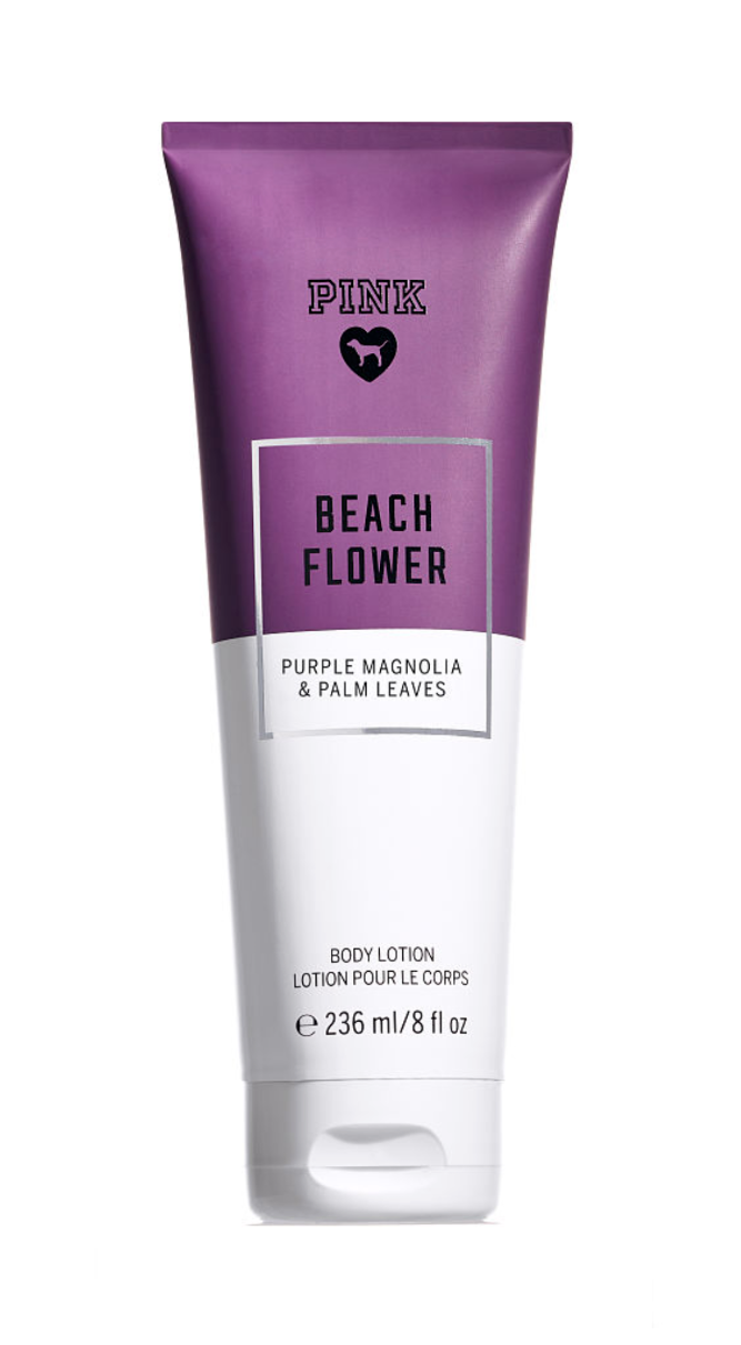 Primary image for PINK VICTORIA'S SECRET BEACH FLOWER FRAGRANCE BODY LOTION 8OZ/236ML
