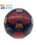 FC BARCELONA NUSKIN SIZE 3 BALL 31 PANEL OFFICIAL FOOTBALL SOCCER CLUB T... - $17.12