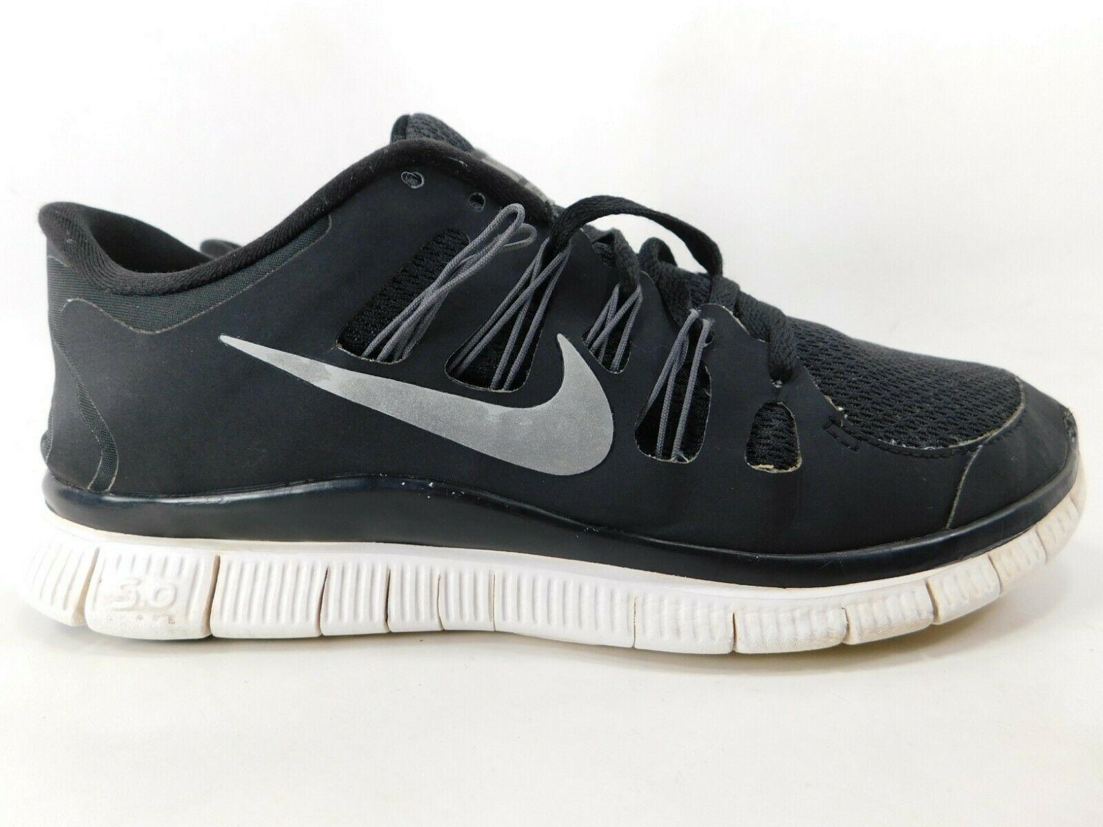 Nike Free 5.0+ Size US 9.5 M (D) EU 41 Women's Running Shoes Black 580591-002