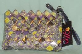 Nahui Ollin Arm Candy Wrapper Multi-Color ECO Bag Handbag/Wristlet NWT