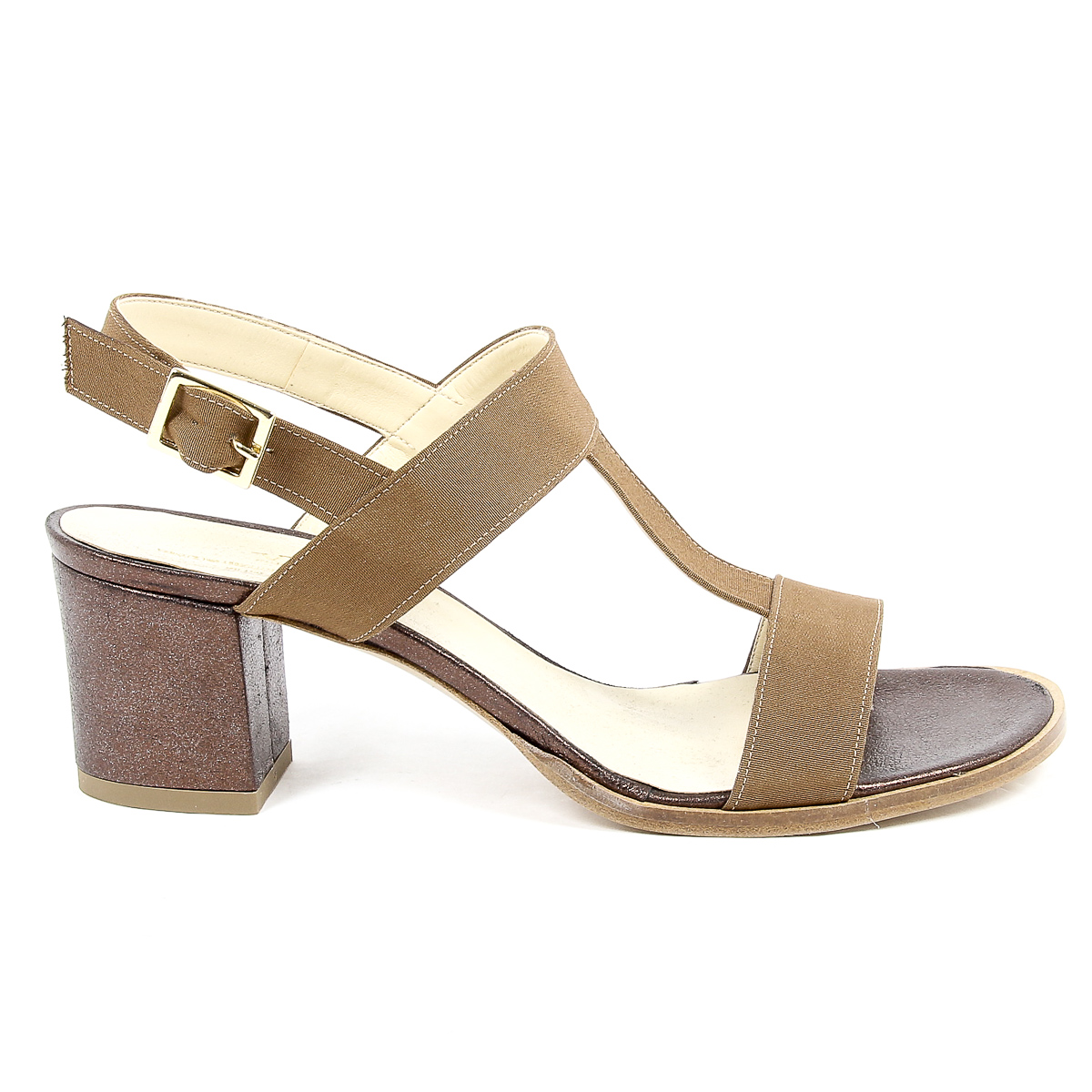 Primary image for V 1969 Italia Womens Sandal Brown PERLA