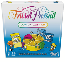 Trivial Pursuit Family Edition Game Separate Cards for Adults and Kids ... - $17.81