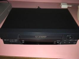 JVC HR-A592U VCR VHS Player Video Cassette Recorder Hi-Fi Stereo 19u No Remote - $58.19
