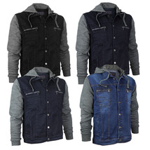 Vertical Eagle Juniors Boy's Kids Cotton Hooded Denim Jean Jacket BVE 1810