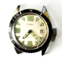 Vintage Rockford 17 Jewels Manual Wind Wristwatch Bennett 1803 35mm Spor... - $494.99