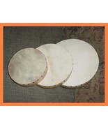 CP BRAND HAND DRUMS - SET OF THREE WITH BEATER - NEW 2018 STOCK - SUPERB... - $52.00
