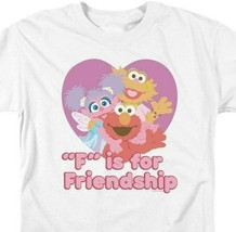 Elmo T-shirt Sesame Street Retro TV F is for Friendship graphic tee SST197 image 2