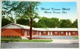 Mount Vernon Motel Ohio Postcard - $2.35