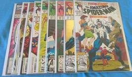 The Amazing Spider-Man #374-381 +1 9 comic lot. - £36.99 GBP