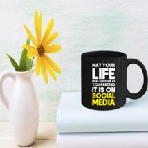 Social Media Life Gifts Social Media Lovers Coffee Mug - $15.95