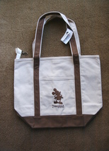 NWT/DISNEY/DISNEYLAND/MICKEY MOUSE/CANVAS Tote BAG/SHOULDER Bag - $35.00