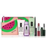Clinique 7 Pc Set MIld soap Love Pop Lip Remover Mascara Eye Liner Moist... - $22.76
