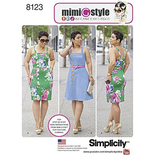 Simplicity Creative Patterns 8123 Misses' and Plus Size Dresses from Mimi G Styl