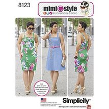 Simplicity Creative Patterns 8123 Misses' and Plus Size Dresses from Mim... - $13.48