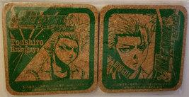 "Bleach ""Toushiro Hitsugaya"" Set of (2) Cork Coasters * Anime * Pierrot - $6.88"