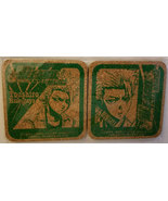 "Bleach ""Toushiro Hitsugaya"" Set of (2) Cork Coasters * Anime * Pierrot - $6.88"