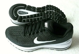 Nike Womens Air Zoom Vomero 13 Running Shoes Black White Anthracite Grey NIB - $84.99