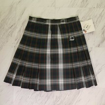 Royal Park Color 4 Green Wrap Skirt Style 137 Girls School Uniform New NWT