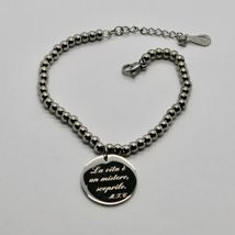 Steel Bracelet or Agate with Anthem Stylish Life of Mother Teresa of Calcutta image 12