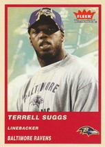 2004 Fleer Tradition #142 Terrell Suggs  - $0.50