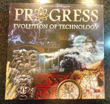 PROGRESS EVOLUTION OF TECHNOLOGY BOARD GAME NEW FACTORY SEALED! - $39.99