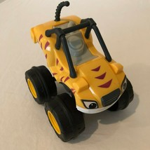 Blaze And The Monster Machines Pull Back Stripes Plastic Toy Car 2014 Mattel - $9.99