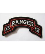 75th RANGER REGIMENT SCROLL SSI FULL COLOR - $5.00