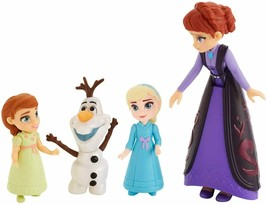 Disney Frozen II FAMILY SET  Queen Iduna watches over Anna, Elsa and Olaf - $14.95