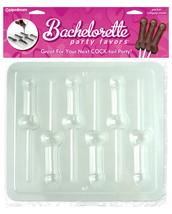 Pipedream Products Bachelorette Party Favors Pecker Lollipop Mold - £6.08 GBP