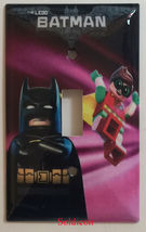 Lego Batman Movie with Robin Light Switch Outlet wall Cover Plate Home Decor