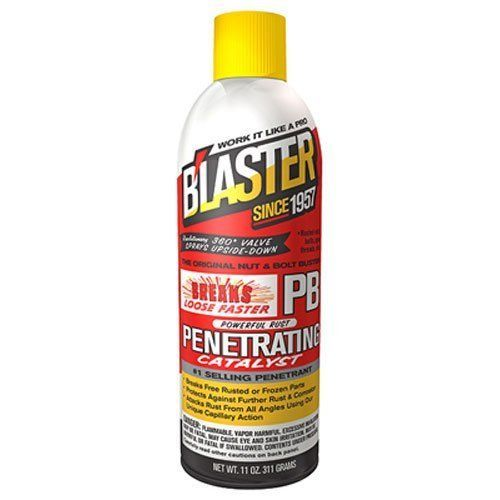 11 Ounce Blaster 16-PB Penetrating Catalyst Rust Corrosion Equipment Protection