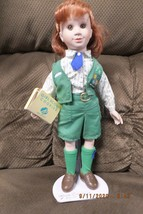 Vintage Avon Girl Scout Doll with Cookie Box, Tag and Stand No Box GSA 1... - $10.40
