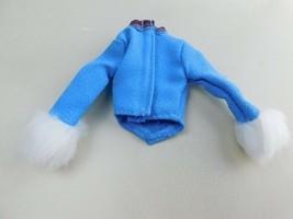 Vintage Barbie Doll Fur Cuff Jacket Barbie Avenue Tag  A6 - $8.81