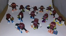 California Raisins 15 Ultimate Figurines Calrab Applause Figures 1980s #3 - $19.80