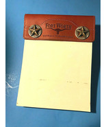 Vintage Souvenir Phone Pad  From Will Rogers Memorial Center Fort Worth ... - $29.69