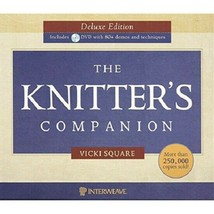 The Knitter's Companion...Author: Vicki Square (used spiral-bound hardco... - $12.00