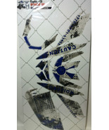 AMR Racing Graphics Kit Sale For Yamaha Raptor 125 2011-2013 MELTDOWN BLUE - $108.85