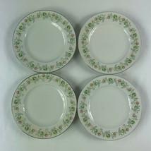 Johann Haviland Forever Spring Bread Butter Plates Lot of 4 Bavaria - $14.84