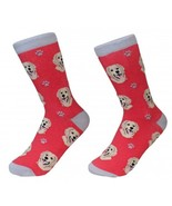 Golden Retriever Socks Unisex Dog Cotton/Poly One size fits most - $11.99
