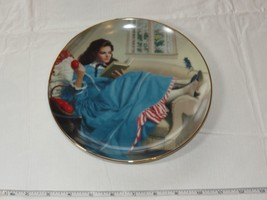 Jo by Elaine Gignilliat Little Women Danbury Mint Collector Plate ~ image 2