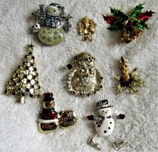 Christmas Lapel Pins - $6.50+