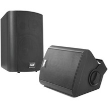 Pyle Home PDWR52BTBK 5.25 Indoor/Outdoor Wall-Mount Bluetooth Speaker Sy... - $132.32