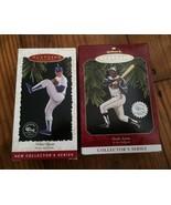 Hank Aaron & Nolan Ryan Hallmark Ornaments - $18.00