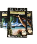 (3) China Mist - Naturally Flavored Coconut Pineapple Green Iced Tea Bag... - $28.70