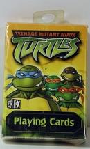 Teenage Mutant Ninja Turtles Playing Cards -- NEW Still Sealed 2003 TMNT - $9.70