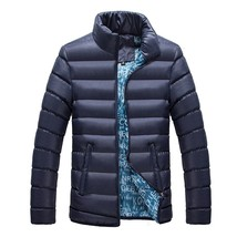 The Men Fashion Popular Bubble Coats Stand Collar Cotton Padded Jacket  - $66.30