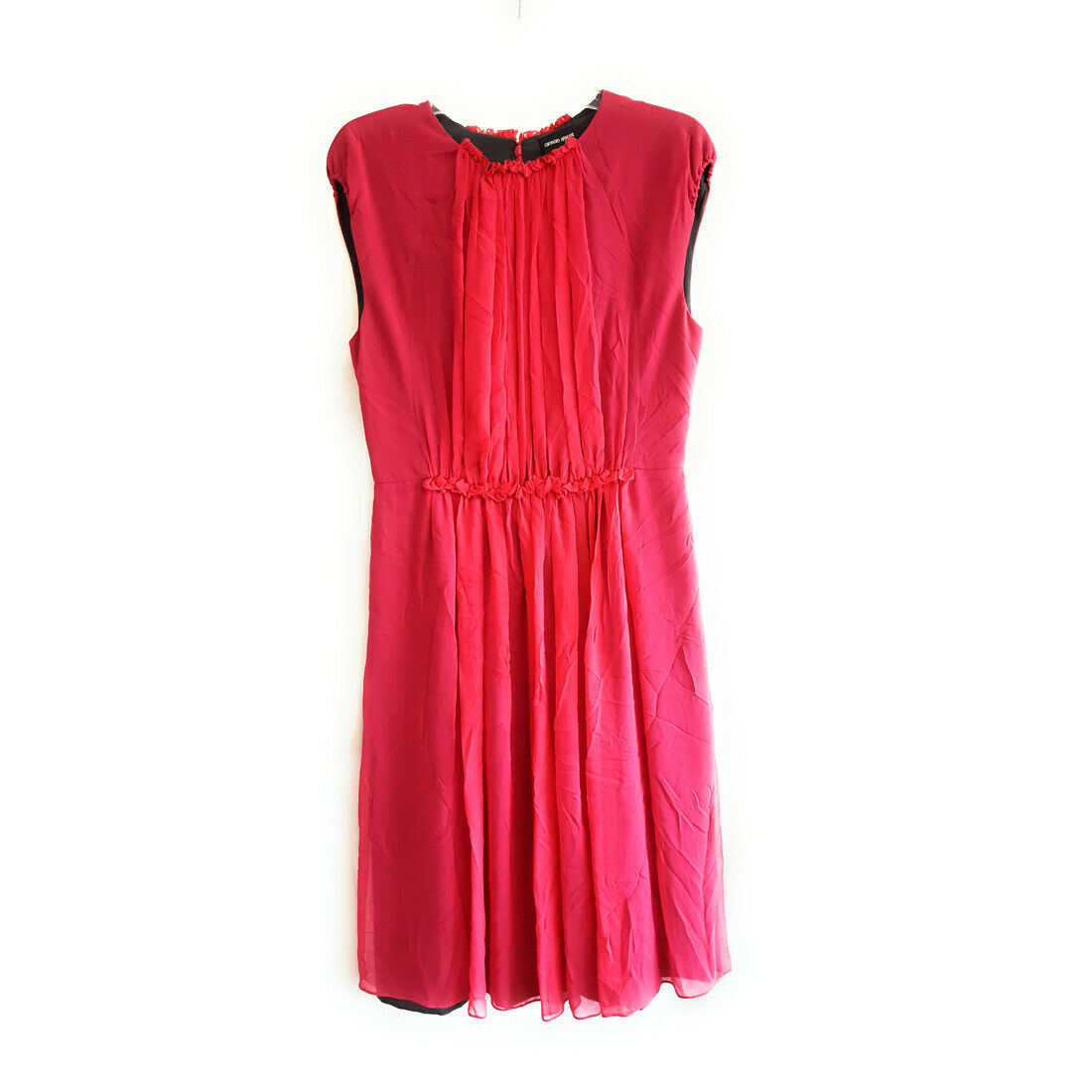 Giorgio Armani Silky Flow Dress, Hot Pink, 42 image 1