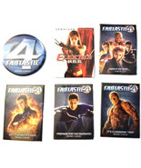 Fantastic Four / Elektra Set of (6) Promotional Pin Back Buttons / Pins - $4.88